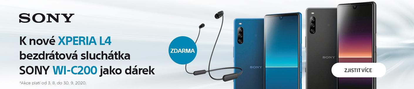 Sony Xperia L4 + sluchátka