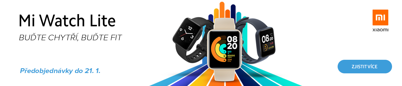 Předobjednávky Xiaomi Mi Watch Lite