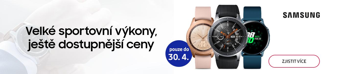 Akční ceny hodinek Samsung