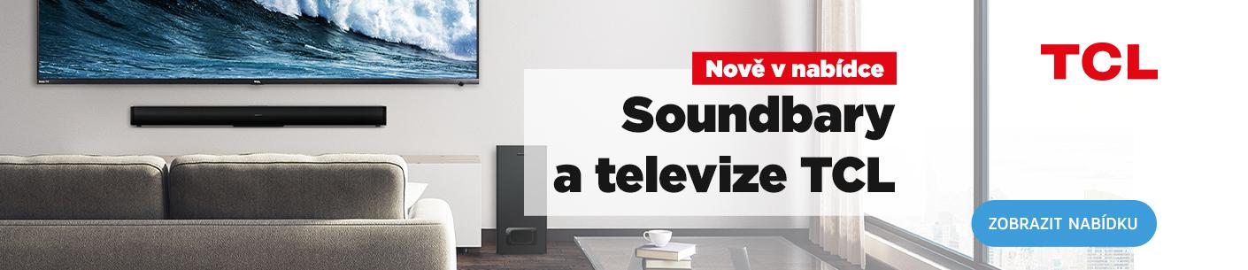 Televize a soundbary TCL